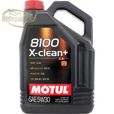Motul 106377 8100 X-clean+ C3 5W-30 Longlife-04 5W30 ACEA C3 MB 229.51 5 Liter