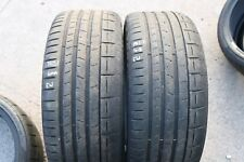 PAIR OF PIRELLI P-ZERO 225/35/ZR19 88Y TYRES PNCS MC 4.8mm & 6mm