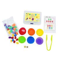 Vorschule Kinder Mathe Zählen Bär Spielset Montessori Early Educational Toys