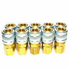 "10 Foster Quick Connect 1/4"" Female NPT Air Hose Coupler - M Style"