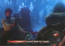 Star Wars Galactic Files Reborn Galactic Moments Chase Card GM-3 Luke meets Yoda