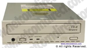 Matsushita Panasonic CW-7502-B 8X 4X SCSI 50 PIN Tray Load CD-Recorder. CW7502B