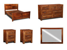 SHEESHAM FURNITURE CUBA BEDROOM PACKAGE 3 (CBP3)