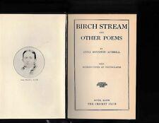 ANNA BOYNTON AVERILL-1908-BIRCH STREAM (hrdcvr) ORIGINAL 1908 FIRST EDITION, A++