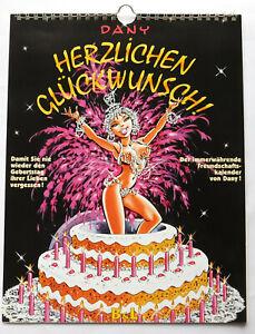 HERZLICHEN GLÜCKWUNSCH!   Dany - Kalender    B&L Verlag   Z1   CA2167
