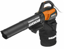 WorX Electric Blower Mulcher Vac With Collection Bag Yard Garden Outdoor ~ New