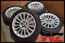 """2011-2013 18"""" x 8"""" BMW 5 & 6 Series Silver Wheels RFT Tires OEM 6775407 71409"""