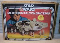 Vintage Star Wars Millennium Falcon Box DISPLAYS BEAUTIFULLY!!!