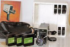 Vintage Movie Camera Russian QUARTZ 1x8S-2 made in USSR Full Set