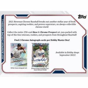 Philadelphia Phillies - 2021 Bowman Chrome Baseball Hobby Case Break (12 Box)