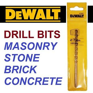 Made in Germany 10 Dewalt Extreme Bullet Tip Masonry /& Concrete TCT Drill Bits