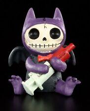 Furry Bones Figur - Flappy -  Furrybones Deko Figur lustig Gothic Skelett