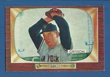 1955 Bowman # 123 Marv Grissom  New York Giants  EX+/MT  SET BREAK