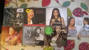 Brandy Single collection 7xCD 21 tracks n mixes plus video Monica Patti LaBelle
