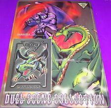 1999 Yu Gi Oh Bandai Dark Dragon vs Gargoyle Duel Scene Coll. # 2