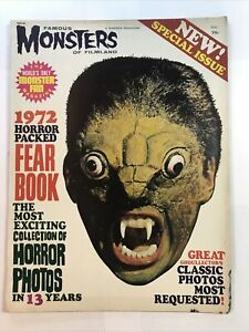 Famous Monsters of Filmland Magazine 1972 Fearbook Special Yearbook