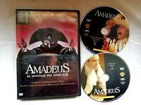 Amadeus Edicion Especial 2 discos DVD  8 oscar 1984 Milos Forman