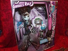 MONSTER HIGH GHOULS RULE  FRANKIE STEIN  AMAZING DETAIL PRISTINE CONDITION 2012