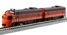 KATO (N-Scale) #106-0430 FP7A/7B Milwaukee Road Hiawatha Locomotives  #95A & 95B