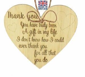 Thank You Gift Colleague Teacher Mentor Nursery Nurse Friendship Midwife Gift