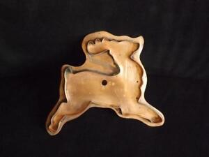 "Martha Stewart Copper Prancing Reindeer Mold Cookie Cutter 8""x7.5"""