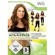 Jillian Michaels Fitness Ultimatum 2009, Wii Wii U Nintendo, NEU/OVP, Deutsch