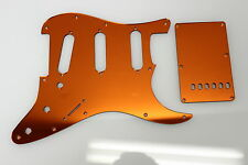 Orange Mirror Pickguard + Cavity Cover Set for Fender Stratocaster Strat