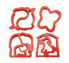 Lunch Punch Sandwich Cutters - Animal Shapes