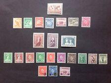 AUSTRALIA  1934-1949 Definitive set mint