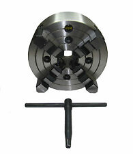 RDGTOOLS 200MM 4 JAW INDEPENDENT LATHE CHUCK / DIN QUALITY