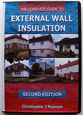 External Wall Insulation all on CD - E-Version 400 pages - pdf file, 2200no sold