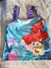 girls Princess Jasmine holiday swimsuit cossie lilac bobbles 2-3 years NEW