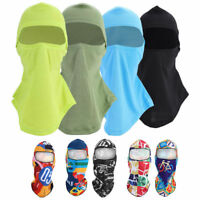 Full Face Mask Balaclava Cover Ultra-thin Cycling Motorcycle Sun Protection BT