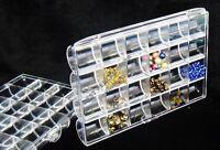 Perlenbox Perlen Box Sortierbox mit 24 Fächern WEIß und Bastelzubehör BEST B11A