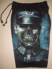 Second World War Zombie Cotton Shorts Sweatpants Free Size Glow In The Dark New!