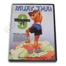 Muay Thai 9 Weapons Swords #1 Dvd kickboxing kicking fighting tiger horse lion
