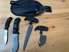 Knives Big Game Caping Set Four Knives/Saw Plus Case wiebe