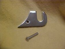 Harley 89-04 Keihin CV carbs,chrome choke cable bracket,mounts to top of carb **