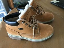 LUGZ men's size 9 nyLUGco faux fur interior Look of suede Man made materials