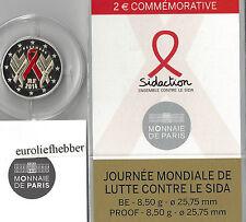 Frankrijk   2 Euro Commemorative 2014   Wereld Aids Dag    PROOF