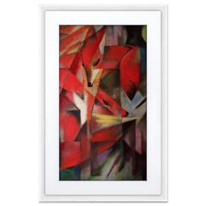 MEURAL Digital Art Canvas II - 21.5 Zoll - Smarter Bilderrahmen, weiß