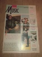 MAKING MUSIC MAGAZINE ISSUE 58 JANUARY 1991 ~ BOOTSY COLLINS / CLANNAD & MORE