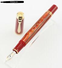 New Pelikan Fountain Pen M600 Tortoiseshell Red Special Edition 2020 EF, F, M, B