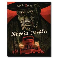 Jeepers Creepers 3 12x16inch Horror Movie Silk Poster Wall Decoration Hot