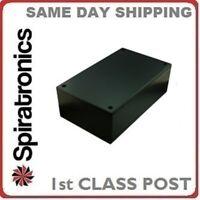 ABS Plastic Utility Project Box Black 217 x 138 x 82mm