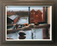 LIAM SPENCER NORTHERN ARTIST LARGE ORIGINAL OIL PAINTING ART MANCHESTER
