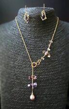 HANDMADE! Amethyst Gemstone Necklace 30038