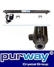 """UV Wasserfilter Wasserdesinfektion System mit Lampe 55 W, 3/4"""", 2.7 t/h max."""