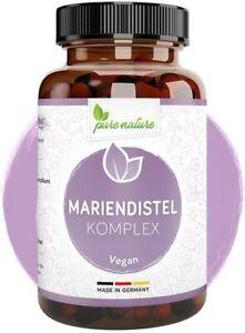 Mariendistel Kapsel Artischocken Löwenzahn Extrakt 80% Silymarin 120 Stk