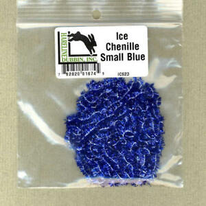 Ice Chenille - small - blue - bag 3 yds